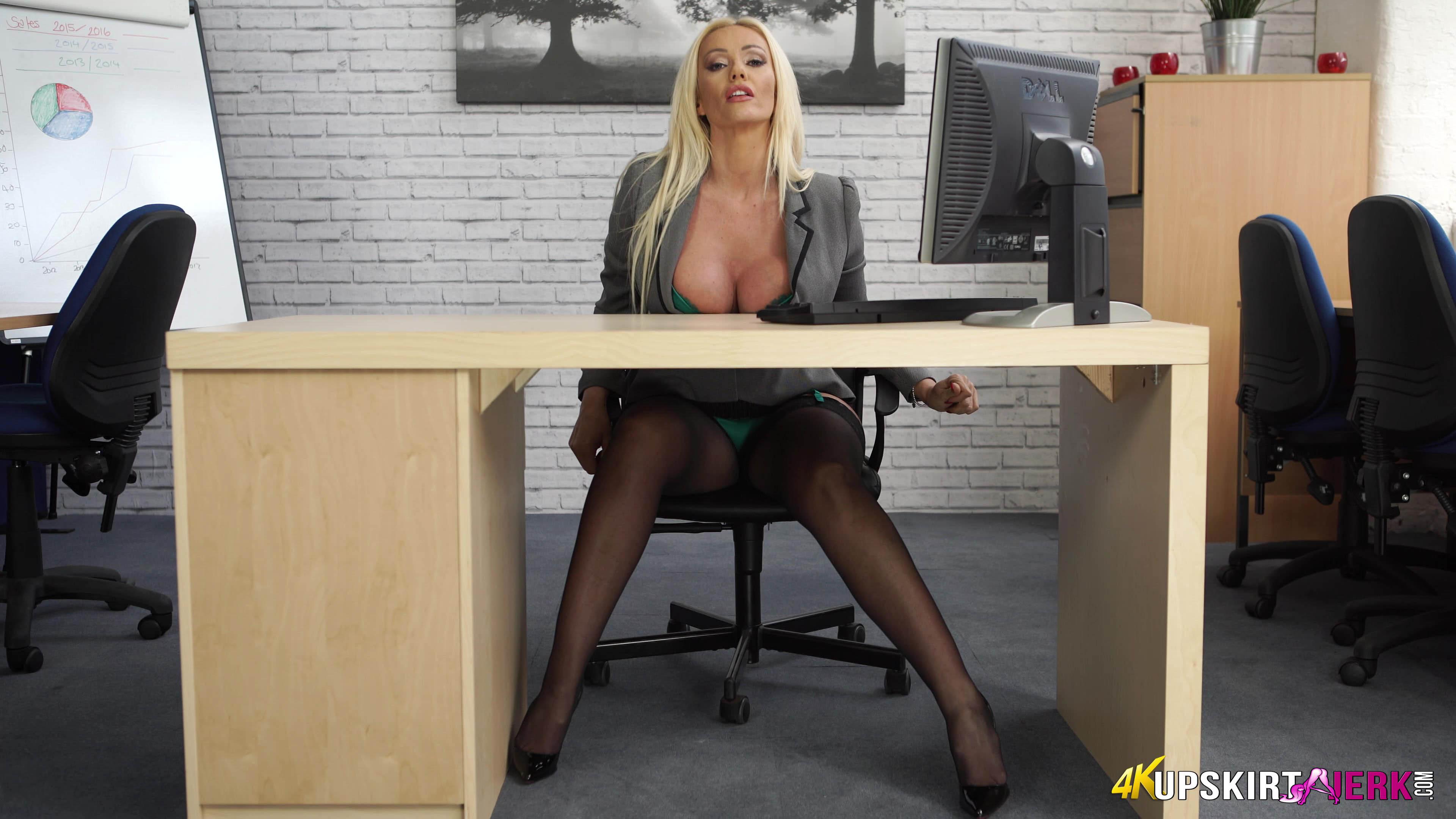 Under desk masturbation  XVIDEOSCOM